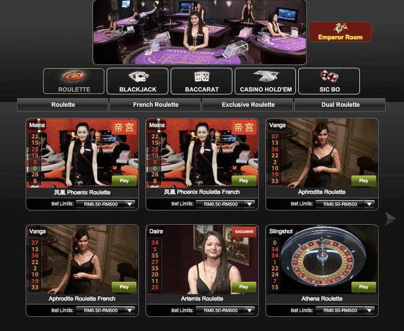 slot games live