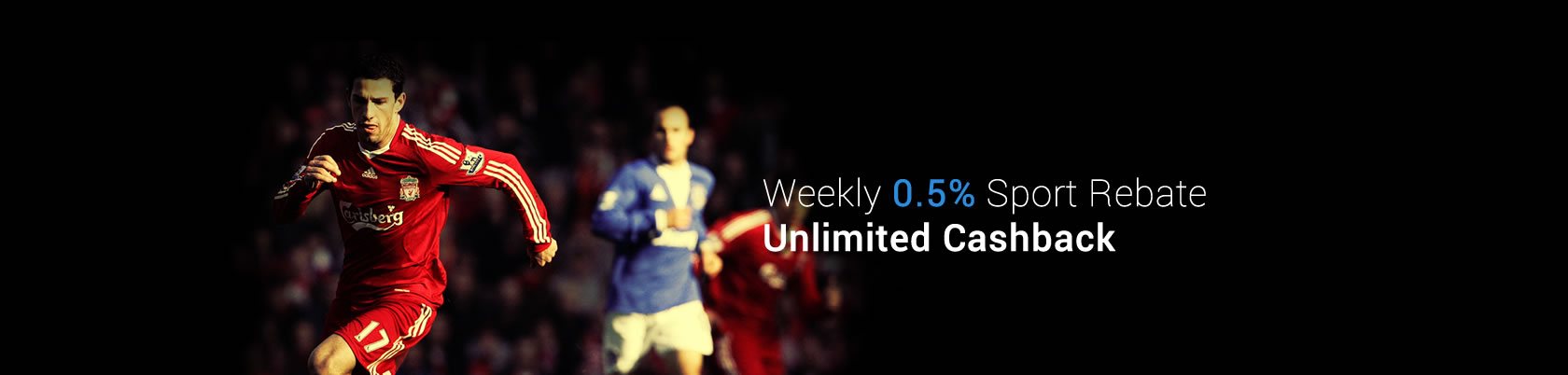 7Luck88 Weekly 0.5% Sport Rebate Unlimited Cashback