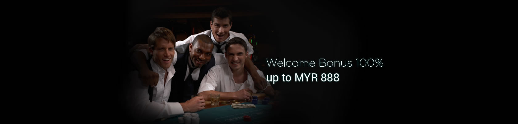 1Bet2u Welcome Bonus 100% up to MYR 888