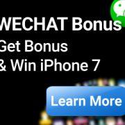 Wechat Share Photo Get Bonus & Win iPhone 7 in iBET Online Casino
