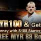 [S188 Malaysia] Deposit MYR100 and get MYR188!