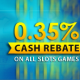 [9Club Malaysia] Weekly 0.35% Slot Games Rebate