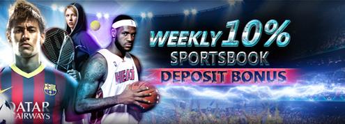 [9Club Malaysia] Weekly 10% Sportsbook Deposit Bonus