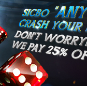 "[9Club Malaysia] Sic Bo 25% Cash Back On ""Any Triple"""