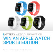 [iBET Malaysia] iLOTTERY WIN AN APPLE WATCH SPORTS EDITION