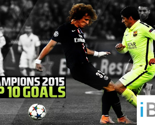 2015 Champions League Top 10 Goals! by Casino588