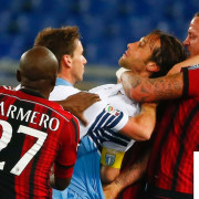 Insanity! Top 5 Football Fights Crazy Red Cards 2015!