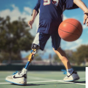 9 Year Old Boy Without a Leg But He Still Love Sport - Ezra Frech by Casino588