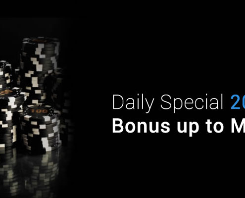 [Galaxy Malaysia] Daily Special 20% Deposit Bonus up to MYR 888