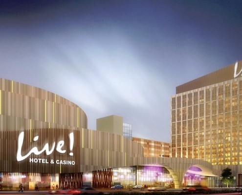 Hotel & Casino Philadelphia master plan