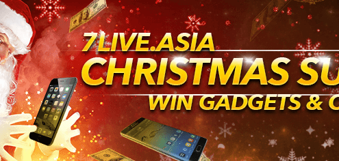 7LIVEASIA CHRISTMAS SURPRISE!
