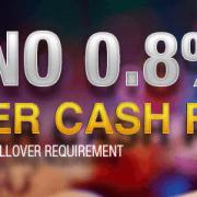 7LIVEASIA Online Casino Weekly 0.8% Keno Super Cash Rebate