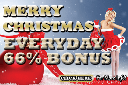 MBA66 Online Casino MERRY CHRISTMAS EVERYDAY 66%