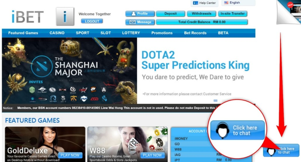 How to Participate in Dota2 Malaysia iBET Predictions King