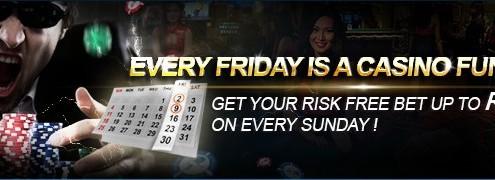 [9Club Malaysia]Online Casino Friday Casino Fun Day.