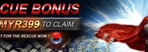 [9Club Malaysia]Rescue Bonus Up to MYR 399!