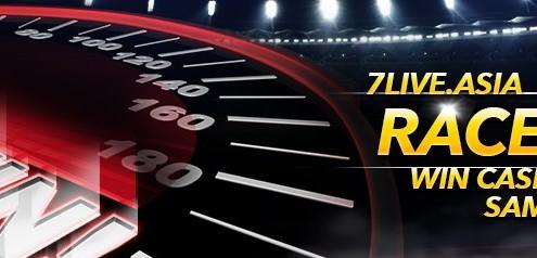 7liveasia Online Casino Malaysia RACE TO 7!