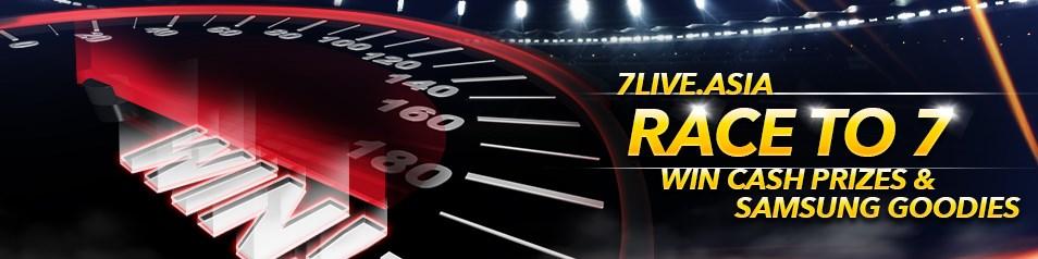 7liveasia Online Casino Malaysia Race TO 7