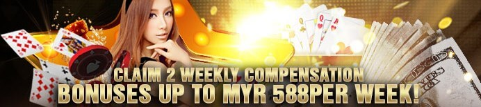 [S188 Malaysia]Deposit On Weekends Bonus Up To MYR 388