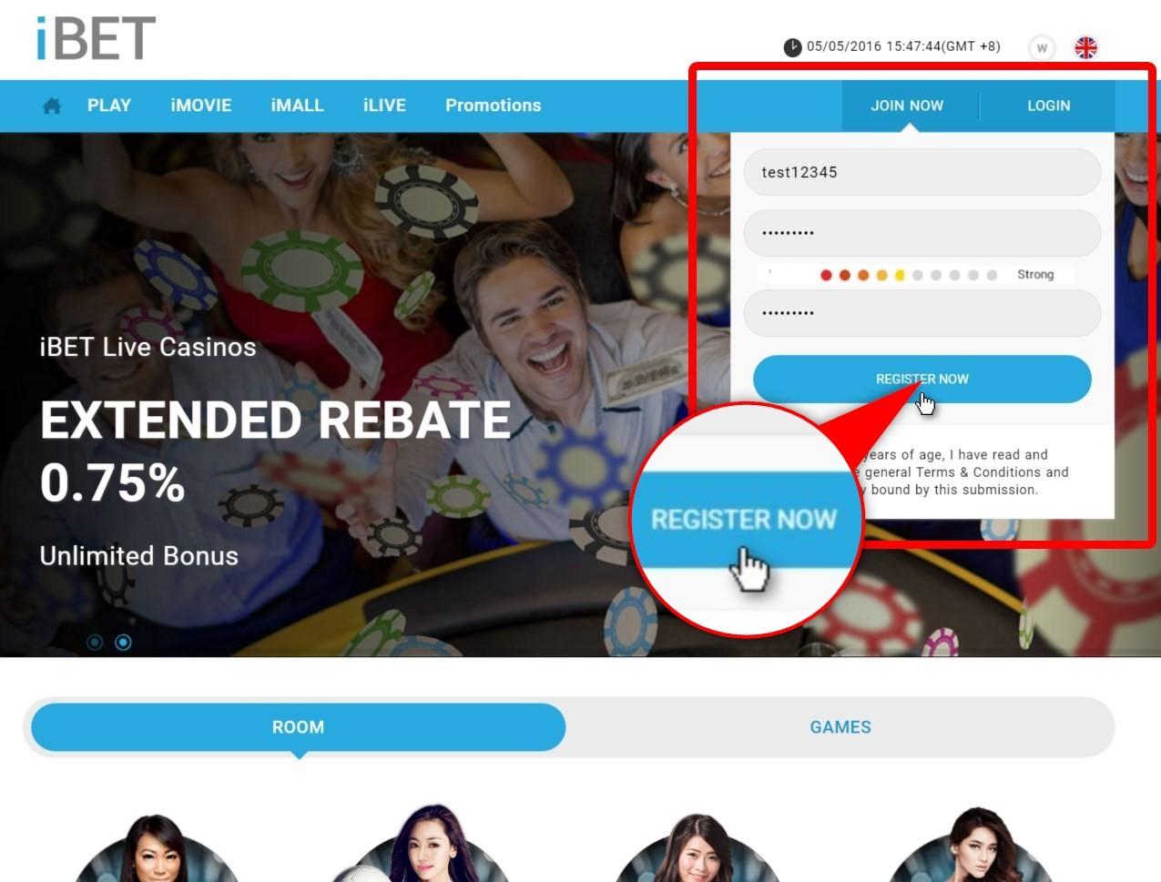 iBET Minimum Deposit MYR 10 Online Casino Malaysia Dominant