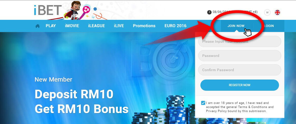 Register iBET Online Casino Malaysia For Free and Learn More Bonus!