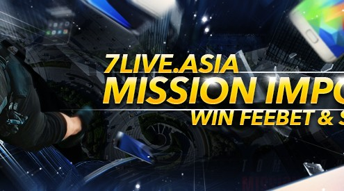 7Live.Asia Online Casino Mission Impossible Lucky Draw Bonus
