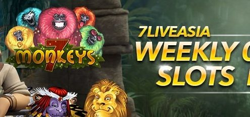 7liveasia Weekly Slots Game Rebate 0.1% Bonus