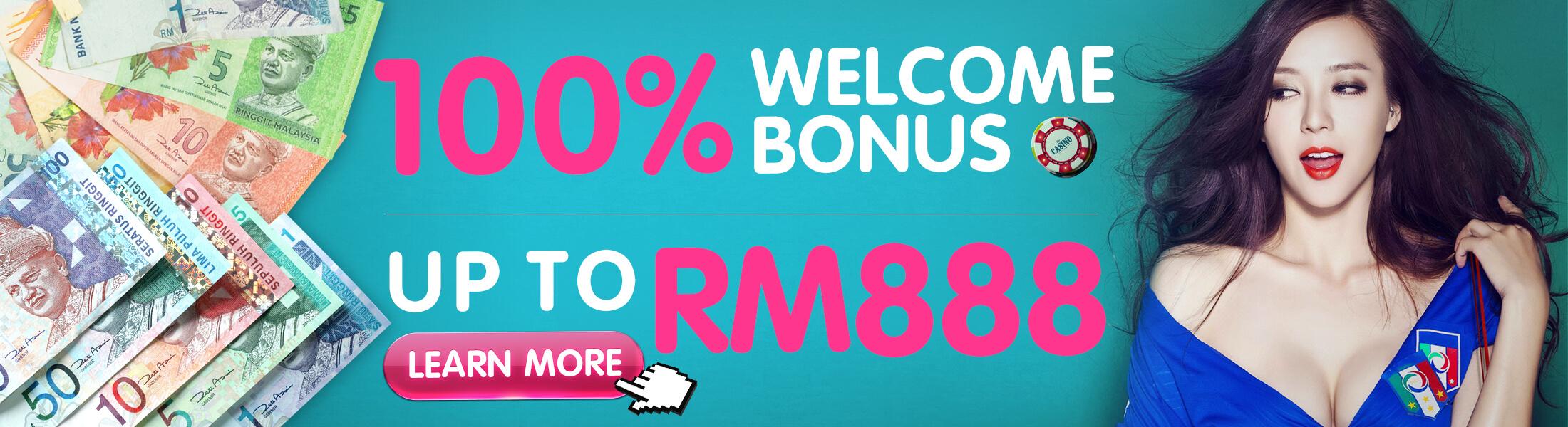 iBET Online Casino Malaysia Welcome Bonus Give You Double!