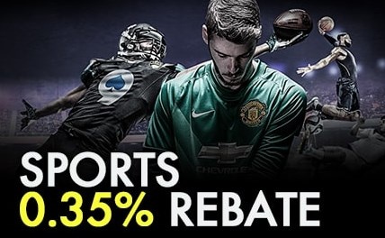 9club Casino Weekly 0.35% Sportsbook Rebate