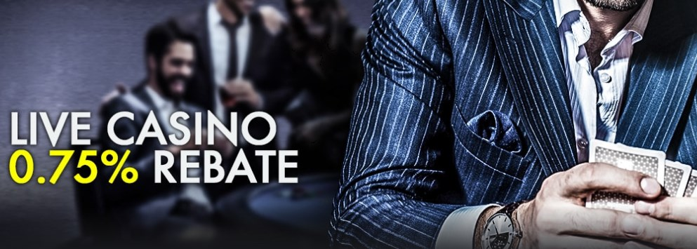 9club Online Weekly 0.75% Live Casino Rebate