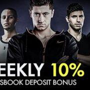 9club Malaysia Weekly 10% Sportsbook Deposit Bonus