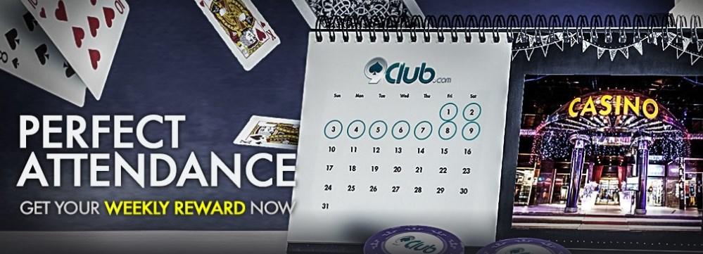 9club Online Casino Malaysia Perfect Attendance