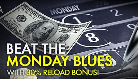 9club Online Casino Monday 30% Deposit Bonus