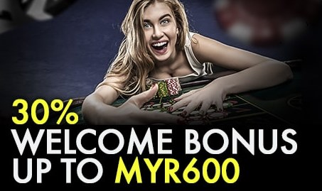 9club Online Casino Malaysia 30% Welcome Bonus