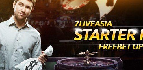 7liveasia Online Casino Malaysia Starter Packs!