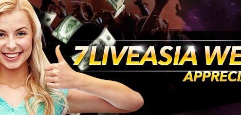 7liveasia, 7LiveAsia Casino Malaysia, 7LiveAsia members, Appreciation Freebet, Weekly 1%