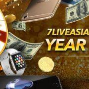 7liveasia Online Casino Malaysia Year End Bonanza