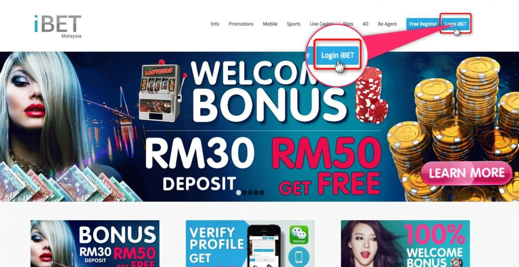 iBET Happy Chinese New Year Ang Pao Free Credit Tutorial
