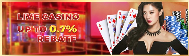 Winlive2u Casino Live Casino Rebate Up To 0.7%