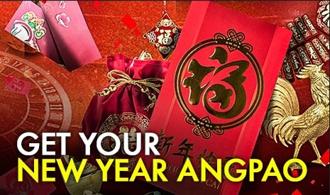 9club Online Casino Chinese New Year Angpao