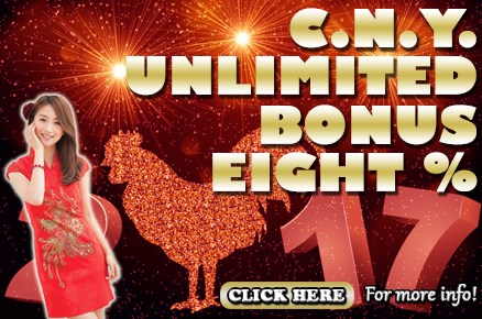 MBA66 Online Casino C.n.y. Unlimited Bonus 8%