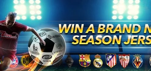 7liveasia Casino Win A Brand New Season Jersey