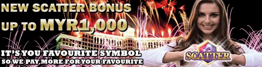 MBA66 Online Casino New Scatter Bonus Myr1,000
