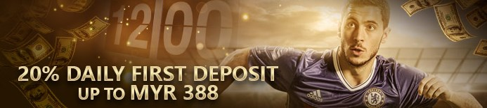 S188 20% Daily First Deposit Online Malaysia