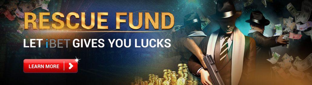 Casino588 recommend iBET Online Casino Rescue Fund Bonus