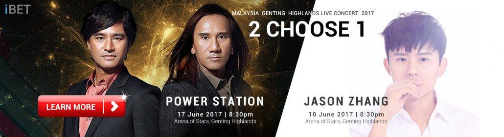 iBET Casino Power Station Concert Lucky Draw