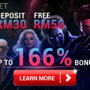 [iBET Malaysia] RM30 Free RM50 Deposit Promotion