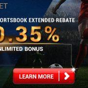 [iBET Malaysia]Sports Book Rebate 0.35% Bonus