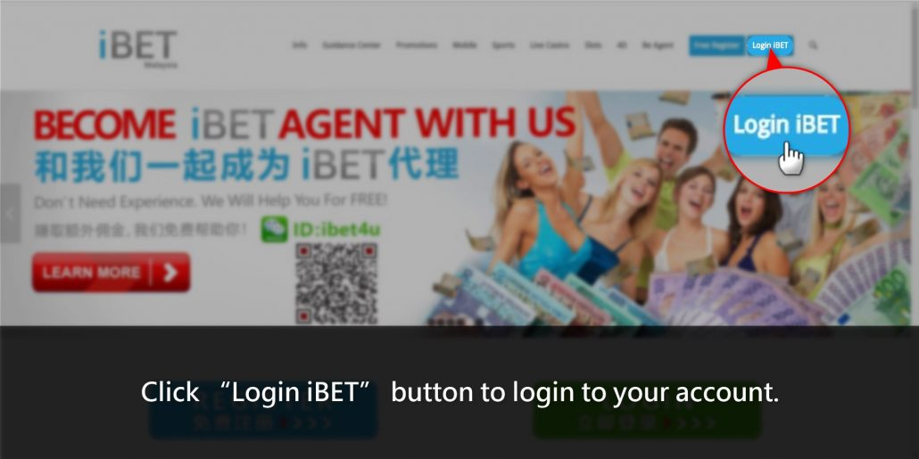 How to claim Casino588 Teach iBET Loyalty Reward