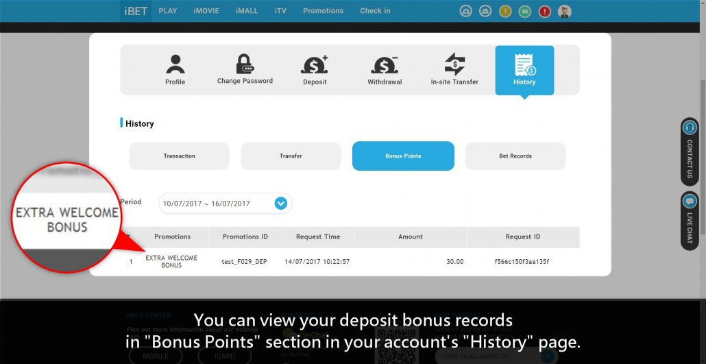 Casino588 teach iBET Extra 100% Deposit Bonus